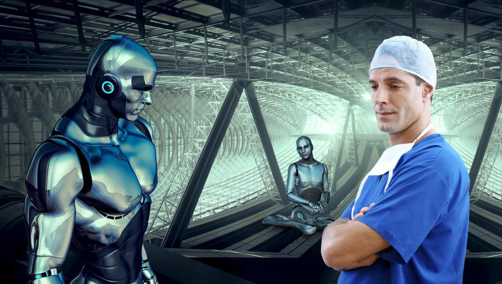 医療業界はロボット化が進んでいる